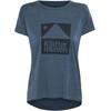Klättermusen Eir SS Shirt Women Dark Blueberry